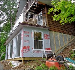 Cottage Renovation in Progress