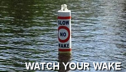 Watch your wake!